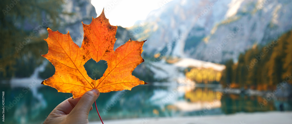 Fototapety, obrazy: Indian summer am Bergsee