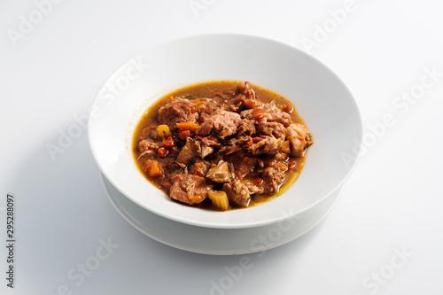 Fotografías de platos de comida Fototapet