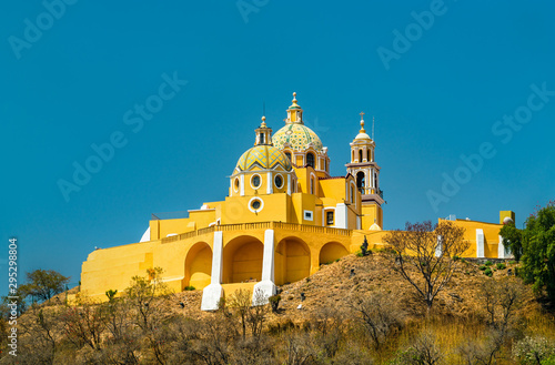 Church of Our Lady of Remedies in Cholula, Mexico