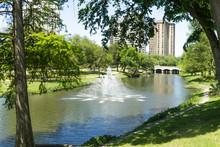 Fountain Of Lemmon Avenue Park In Dallas