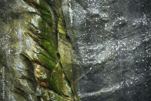 Photo Closeup of natural rock surface in a Iceland cave.