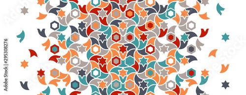 Photo Geometric turkish islamic pattern