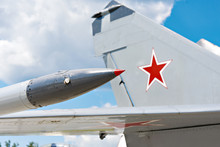 Tail And Wing Of Soviet Milita...