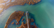 Overhead Drone Perspective On ...