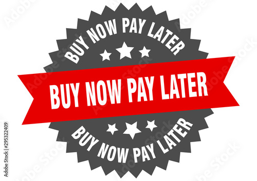 Cuadros en Lienzo buy now pay later sign