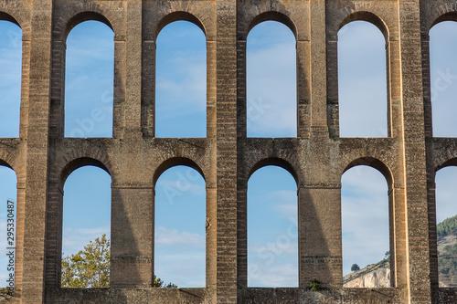 Photo The Caroline Aqueduct by Vanvitelli, the aqueduct created to feed the San Leucio