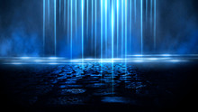 Wet Asphalt, Reflection Of Neo...