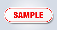 Sample Sign. Sample Rounded Re...