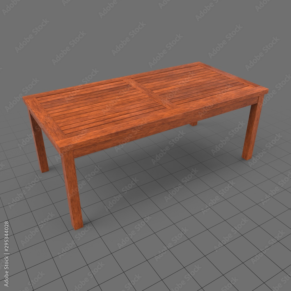 Fototapety, obrazy: Wooden table
