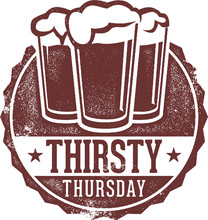 Thirsty Thursday Drink Special...