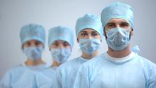 Professional Surgeon Team In M...