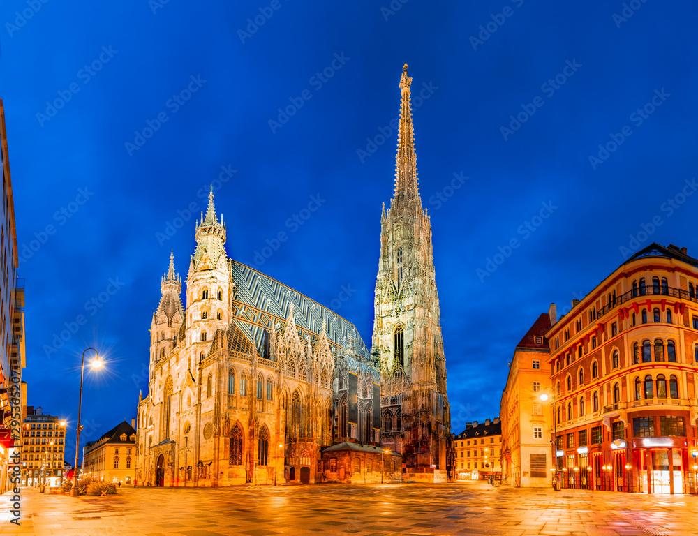 Fototapety, obrazy: Vienna, Austria, Europe: St. Stephen's Cathedral or Stephansdom, Stephansplatz