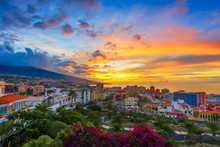 Puerto De La Cruz, Tenerife, C...
