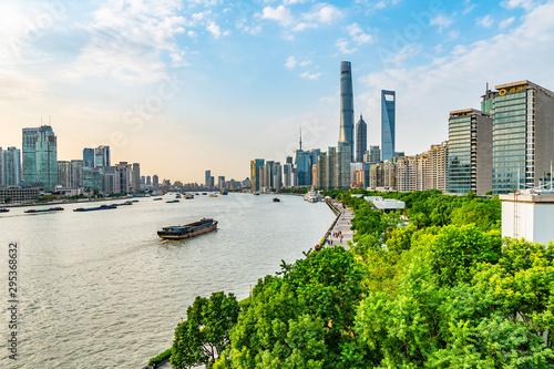 Montage in der Fensternische Shanghai China Shanghai Huangpu River 36