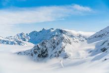 Panorama Of Ski Runs On The Ka...