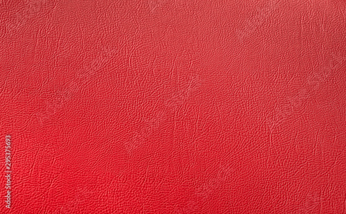 Red elegance leather texture for background with visible details