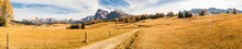 Südtirol Seiser Alm Dolomiten Panorama 3