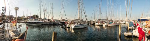 Photo Samsö Hafen von Ballen Panorama 1