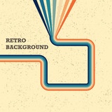 1970's style background, cover, wallpaper, pattern and retro colors