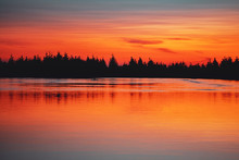 Beautiful Sunset Color Tones I...