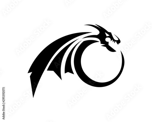 abstract, illustration, logo, symbol, sport, team, mascot,  head, emblem, animal Tablou Canvas