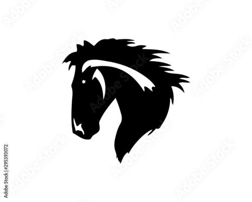 Fotografie, Tablou  abstract, illustration, logo, symbol, sport, team, mascot,  head, emblem, animal