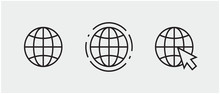 Www, Internet Connection Icons...