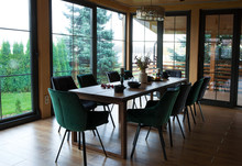 Interior Of Dining Room In A W...