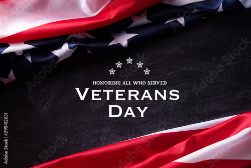 Fotografia, Obraz  Happy Veterans Day