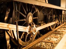 蒸気機関車の動輪