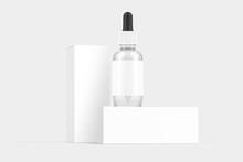 Dropper Bottle Packaging White...
