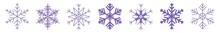 Snowflake Icon Purple | Snowfl...