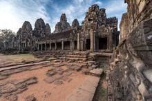Wonderful Temple Of The Bayon, Siem Reap, Cambodia