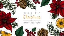 Merry Christmas And New Year B...