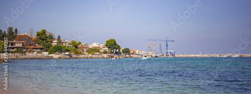 Porticello's Port on Sicily Canvas Print