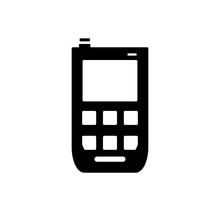Smartphone Icon Vector Flat Design