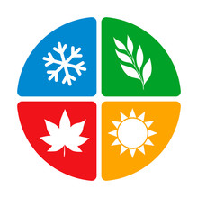 Four Seasons Of The Year Logo ...