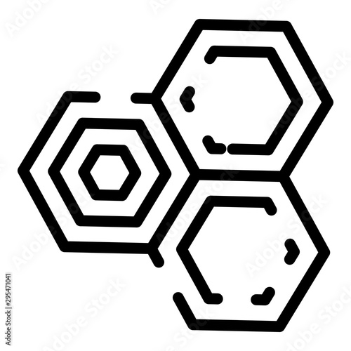Pinturas sobre lienzo  Chemical cell icon