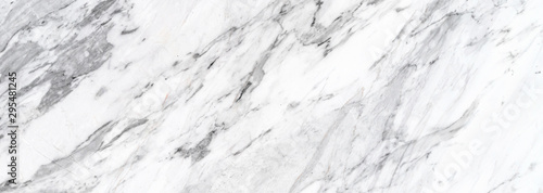 Obraz white natural marble pattern abstract background - fototapety do salonu