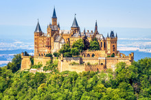 Hohenzollern Castle Close-up, ...