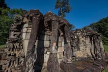 Elephant Terrace, Angkor Thom, Siem Reap Province, Cambodia