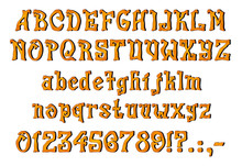 Mystical Orange Font