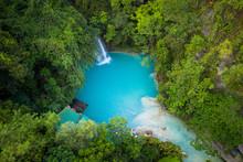 Kawasan Falls In Cebu, Philipp...