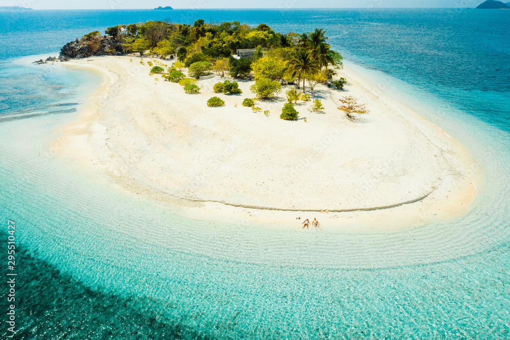 Fototapeta Tropical beach in Coron, Philippines