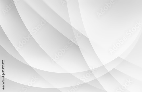 white background with abstract circles layered in modern pattern design