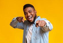 Cheerful African American Man ...