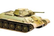 Model Of Soviet Old T-34 Tank