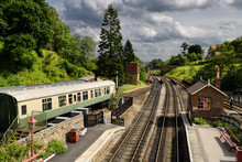 Goathland Railway Station On T...