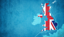 Brexit Konzept - Großbritanni...
