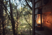 Lantern Porch Light  In The Wo...